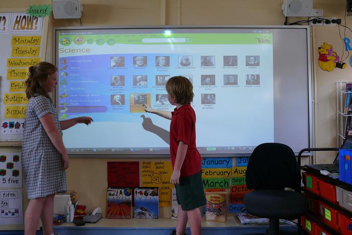 Pizarras interactivas - Equipamiento para Educación